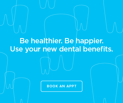 Be Heathier, Be Happier. Use your new dental benefits. - Dentists at Hyde Park Plaza